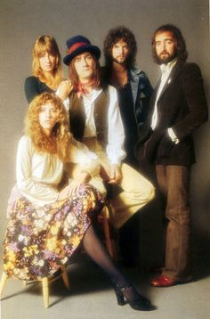 Fleetwood Mac are a British-American rock band formed in 1967 in London. Members now are (altho there have been others)  Mick Fleetwood  John McVie  Lindsey Buckingham  Stevie Nicks