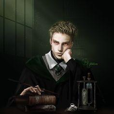 "🍏 on Instagram: ""Draco Malfoy Portrait . #dracomalfoy #harrypotter #harrypotterfanart #dracomalfoyfanart #fanart #digitalart #digitalpainting"""