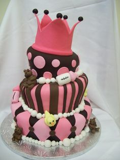 topsy turvy baby shower cake by see-through-silence on DeviantArt