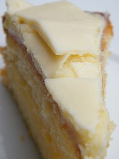 Musings of a Gem: Lemon and White Chocolate Cake Recipe