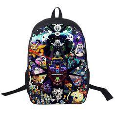 Undertale Printing Backpack Boys Girls School Bags Young Men Women Daily Backpack Children Bookbag Shoulder Backpacks Gift Bag