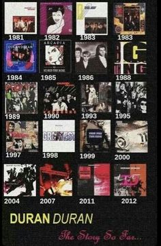 Duran Duran - need to add Paper Gods to this!