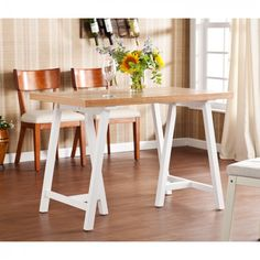 Wildon Home ® Jessop Dining Table - 22 Awesome Dining Table Designs Counter Height Dining Table, Dining Table Design, Dining Table In Kitchen, Dining Tables, Tommy Bahama, Esstisch Design, Island Table, Cool Tables, Kitchen Furniture