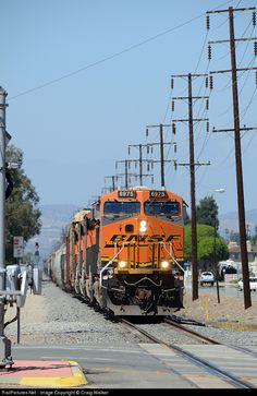 RailPictures.Net Photo: BNSF 6975 BNSF Railway GE ES44C4 at Orange, California by Craig Walker