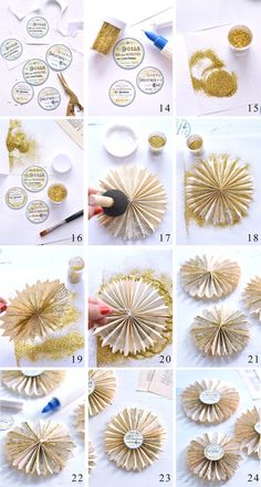 DIY these gorgeous Book Page Paper Rosettes with Diana Dreamsfactory! Such beautiful Paper Ornaments for your Christmas Tree or Holiday Display! Free Printable is included. Diy Paper Christmas Tree, Christmas To Do List, Last Minute Christmas Gifts, Christmas Books, Christmas Crafts, Christmas Sewing, Christmas Ideas, Victorian Christmas Decorations, Diy Christmas Decorations Easy