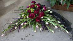 Funeral Floral Arrangements, Church Flower Arrangements, Casket Flowers, Funeral Flowers, Diy And Crafts, Crafts For Kids, Casket Sprays, Grave Decorations, Altered Book Art