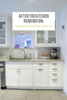 Rambling Renovators: After The Renovation: The Kitchen - kitchen renovation tips