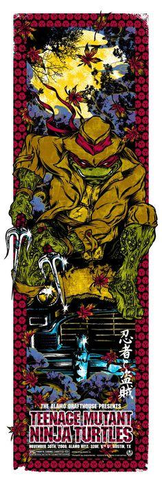 Teenage Mutant Ninja a Turtles - Raphael by Rhys Cooper