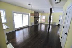 #Farmhouse 20 Interior Shot: Living Room; Sullivan County Real Estate -- Catskill Farms Journal: Farm 20 - SOLD