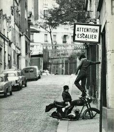 Henri Guérard - A Ménilmontant, Rue des Panoyaux, 1966.