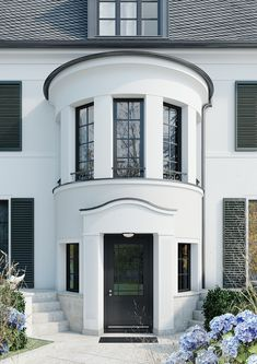 Exclusive Villas Development in Berlin Westend - Ralf Schmitz Villa Design, Facade Design, New Classical Architecture, Classic Architecture, Kylie Jenner New House, House Front Design, Facade House, Custom Home Builders, Classic House