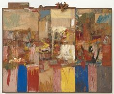 Robert Rauschenberg  Contributed by Sarah Roberts  In July 2013 SFMOMA launchedthe Rauschenberg Research Projecton the museum's website.Produc... | Robert Rauschenberg Collection (1954/1955)