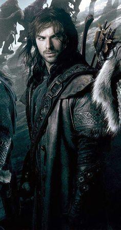 Kili  ... I would follow him into Murkwood, Panem, and even Forks, for f*ck's sake. Damn