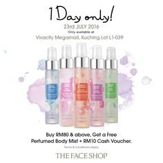23 Jul 2016: The Face Shop Vivacity Megamall Grand Opening