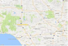 Rod McKuen Mansion 040a; 2015-10 Map of the neighborhood of the  mansion. Address 1155 Angelo Drive, Beverly Hills, CA 90210
