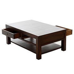 Coffee table—lots of drawers!