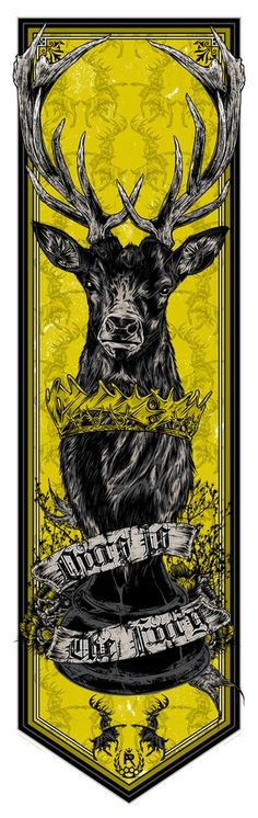 """Casa Baratheon - """"Nossa é a Fúria"""""""
