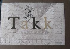 Thank you card 1 #scrapbooking #handmade #cards