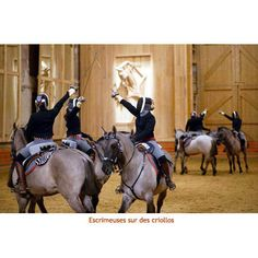 Fencing on Criollohorses at Versailles, France (Bartabas)