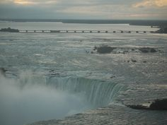 Early light Niagara Falls Ontario Canada