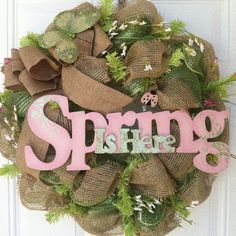 Spring wreath for sale