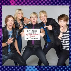"""59 days until the #BigTicketSummer Concert in Toronto! #R5Family - Family channel.ca"