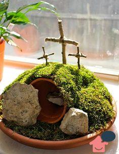 decoração páscoa bíblica
