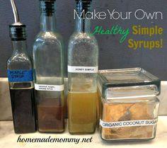 Healthy Simple Syrups
