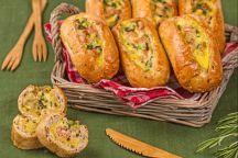 Barchette di pane ripiene