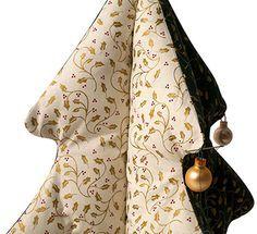 Idée créative - Sapin de Noël en tissu patchwork - buttinette - loisirs créatifs