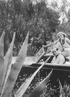 Cote Azur, Judith und Gideon, Sommer 1935