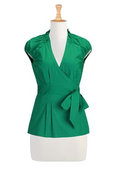 50 S Style Clothing, Blouses For Women Womens Fashion Clothing - Fashion Tops - Shop for Fashion Tops - | eShakti.com