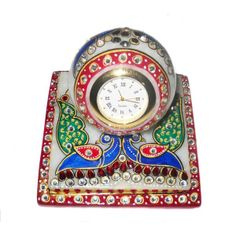 Rajasthani Handicrafts ,Made of White Marble along with famous meenakaari work