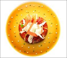 (Homard - From Pinterest) L'art de dresser et présenter une assiette comme un chef de la gastronomie...