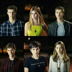 Top:will,brooke and kieran Botttom:noah,audrey and Emma   I love Audrey