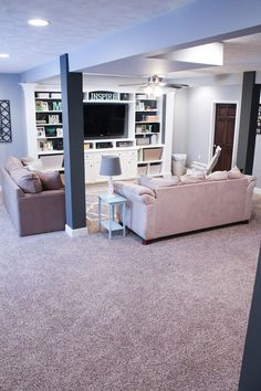 570198002794387870 Finished Basement Ideas   Before  After