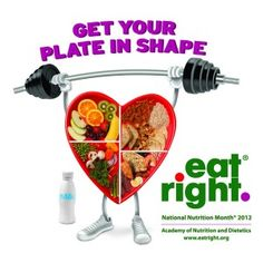 March is Nutrition Month--here's an article: 31 Days & Ways to Get Your Plate in Shape