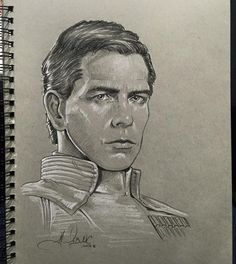 Orson Krennic sketch i did at Star Wars Celebration this year. Orson Krennic Sketch from SWCE 2016 Saga, Director Krennic, Female Sith, Military Divisions, Grand Admiral Thrawn, Star Wars Celebration, Star Wars Characters, Star Wars Art, Clone Wars