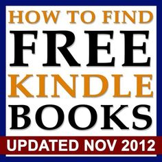 How To Find Free Kindle Books: Find free books for Kindle with this resource of over 65 current sites dedicated to free ebooks! by Jack Meyers, http://www.amazon.com/dp/B008RYYVHE/ref=cm_sw_r_pi_dp_Oj11qb11TP2N5