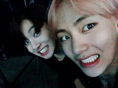 Jungkook and V ❤ You guys have no chill #BTS #방탄소년단
