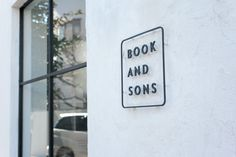 BOOK AND SONS                                                       …