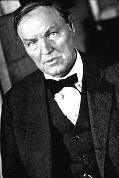 Clarence Darrow; iconic attorney
