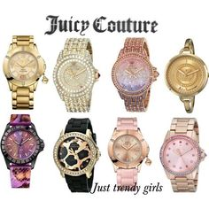 juicy watches for woman Woman watches trends 2015 http://www.justtrendygirls.com/woman-watches-trends-2015/