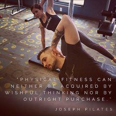 "Thought For The Day @PilatesDwell_Canton   ""Physical Fitness can neither be acquired by WISHFUL THINKING nor by outright PURCHASE."" #sosaysJosephPilates #yougotWERK #lifelongprocess • #pilates #pilatesstudio #pilatesinstructor #pilatesformen #pilatesforwomen #contrology #classicalpilates #calisthenics #gymnastics #fitness #yoga #personaltrainer #menshealth Pilates Instructor, Pilates Studio, Pilates For Men, Calisthenics, Wishful Thinking, Physical Fitness, Personal Trainer, Gymnastics, Physics"