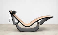 Rio Chaise lounge by Oscar Niemeyer, 1978
