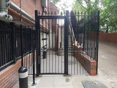 Railings and balustrades for both residential and commercial projects, including fire exit staircases. Security Gates, South London, Railings, New Homes, Fire