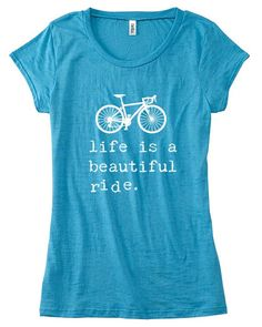 LIFE is a BEAUTIFUL Ride Womens TShirt Womens by OhSudzGifts Inspiráló 9029cb324d