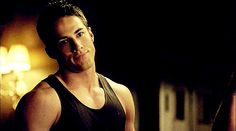 The Vampire Diaries and The Originals . Michael Trevino as Tyler Lockwood