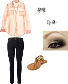 """my outfit for the first day of school."" by fdonedra on Polyvore"