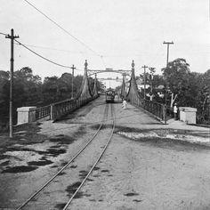 Ponte Benjamin Constant. Manaus. Álbum do Amazonas 1901-1902.